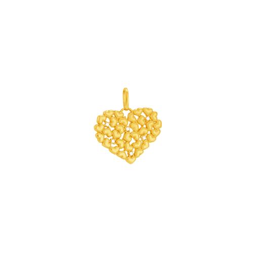 Pingente em Ouro 18K Coração - AU6020