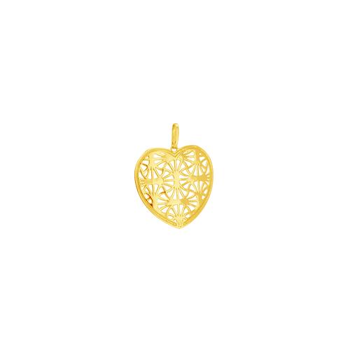 Pingente em Ouro 18K Coração - AU6021