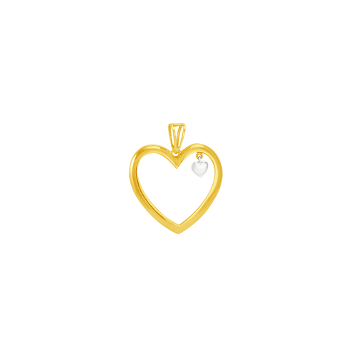 Pingente em Ouro 18K Coração - AU6026