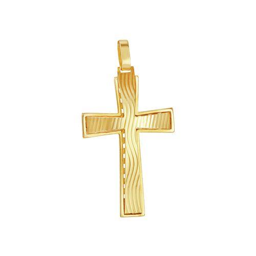 Pingente em Ouro 18k Cruz - AU3121
