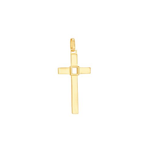 Pingente em Ouro 18K Cruz - AU6207
