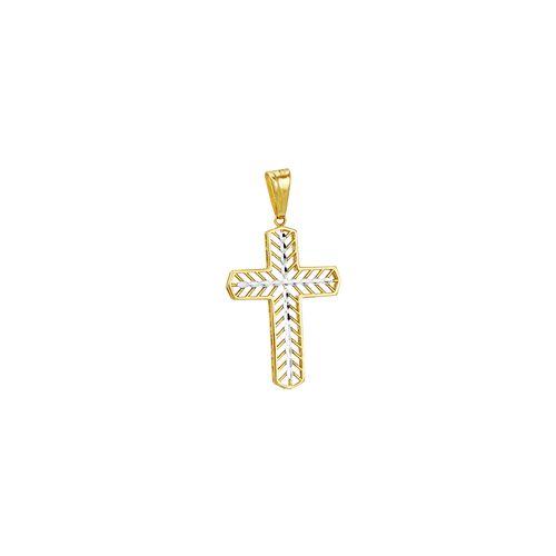 Pingente em Ouro 18K Cruz - AU3383