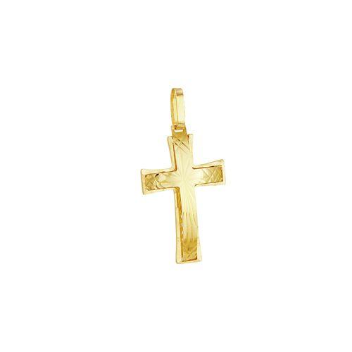 Pingente em Ouro 18K Cruz - AU3386