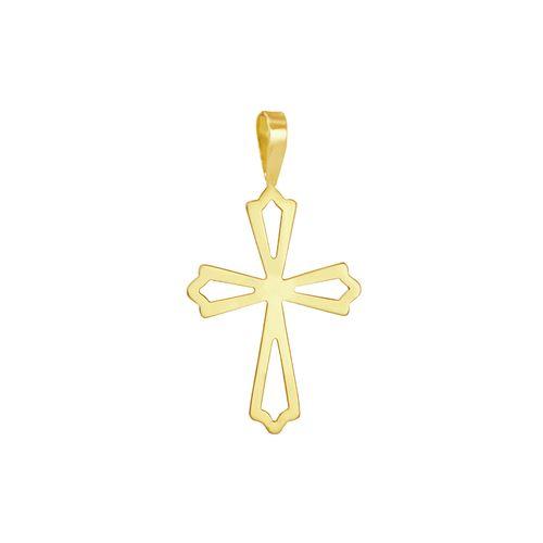 Pingente em Ouro 18K Cruz - AU3387