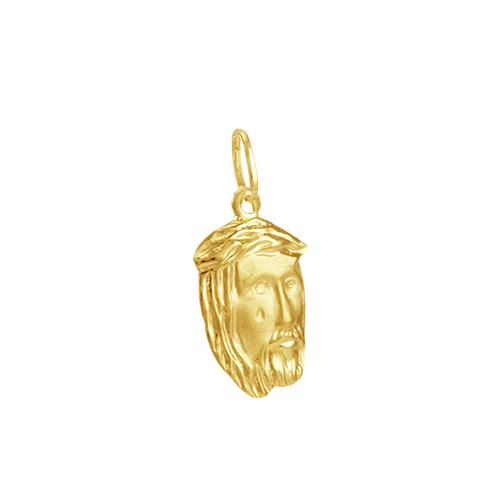 Pingente em Ouro 18k Face de Cristo - AU5779