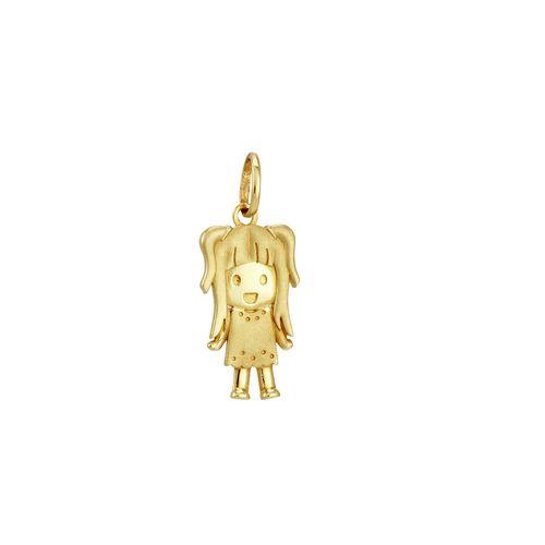 Pingente em Ouro 18K Menina - AU2099