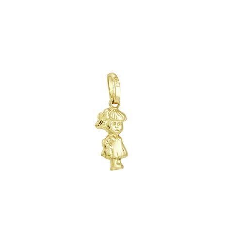 Pingente em Ouro 18K Menina - AU1501