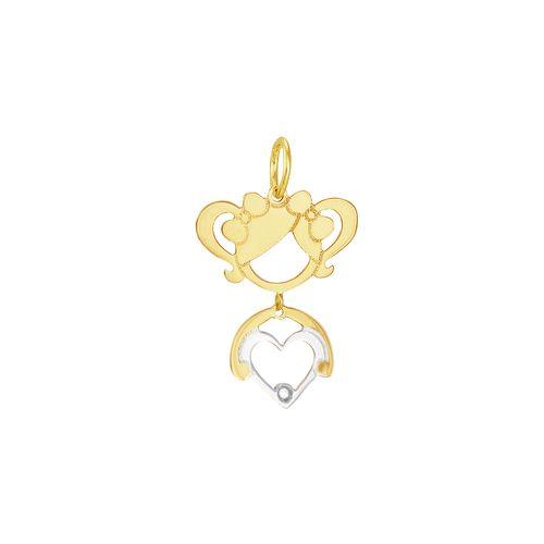 Pingente em Ouro 18K Menina - AU2971