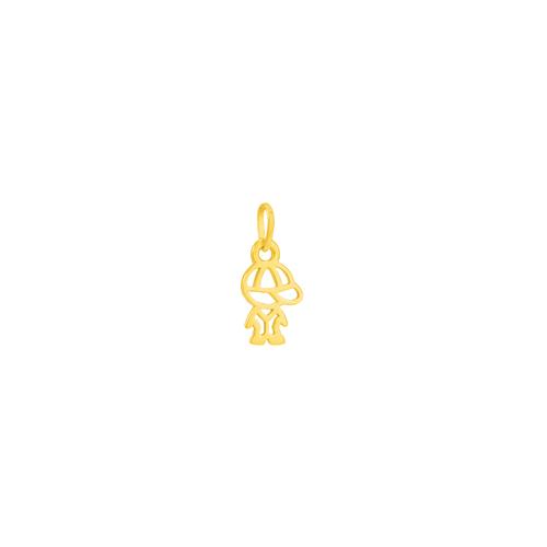 Pingente em Ouro 18K Menino - AU2200