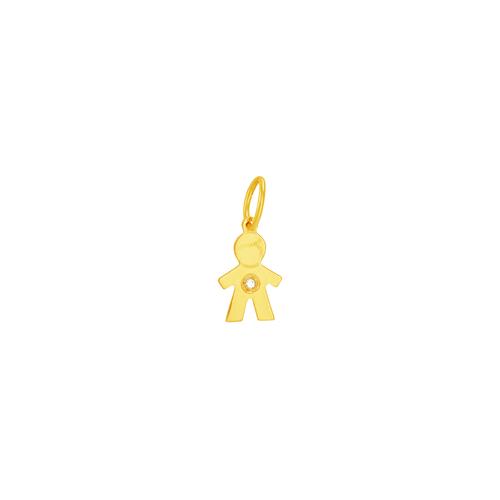 Pingente em Ouro 18K Menino - AU6102