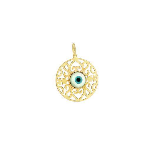 Pingente em Ouro 18K Olho Grego - AU3025