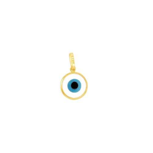 Pingente em Ouro 18K Olho Grego - AU5694