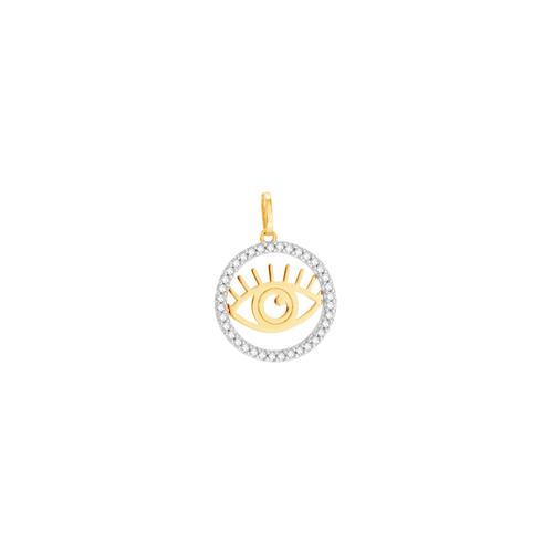 Pingente em Ouro 18K Olho Grego - AU6294