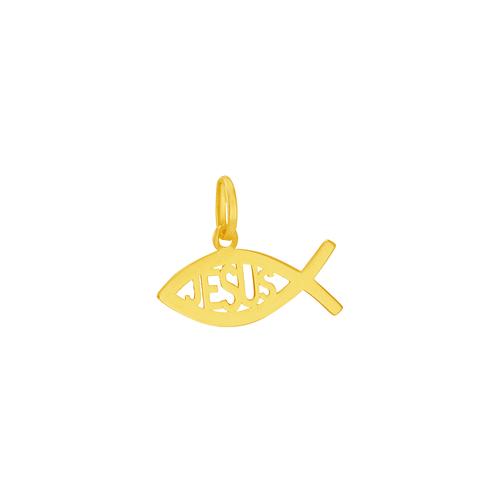 Pingente em Ouro 18K Peixe Ichthys - AU5931
