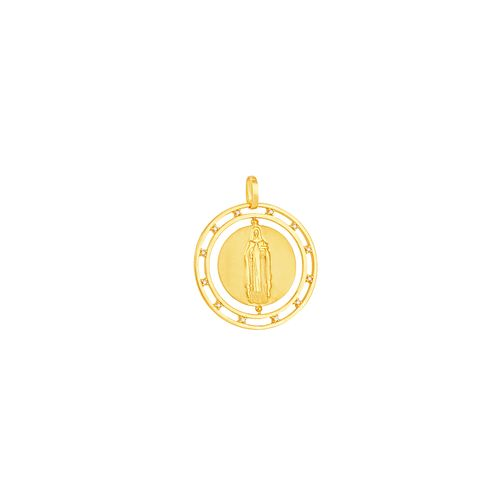 Pingente em Ouro 18K Santa Edwiges - AU5038