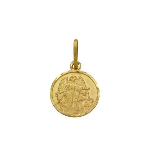 Pingente Ouro 18k Anjo da Guarda