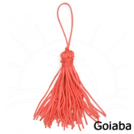 Pingente Tassel TP003 5,7cm - 10 Unidades 080 - Goiaba