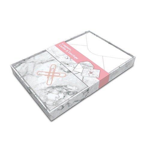 Pink Stone Conj Cartão Mármore - Compre na Imagina só