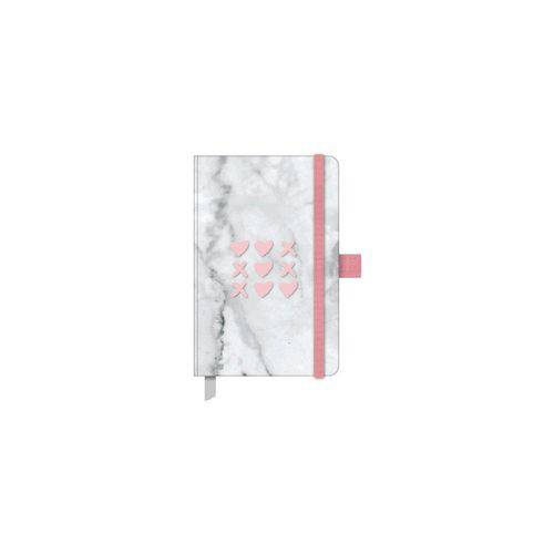 Pink Stone Papertalk Mini Pautado Mármore