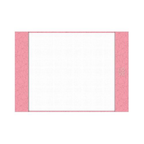 Pink Stone Risque A3 GM - Imagina só Presentes Criativos