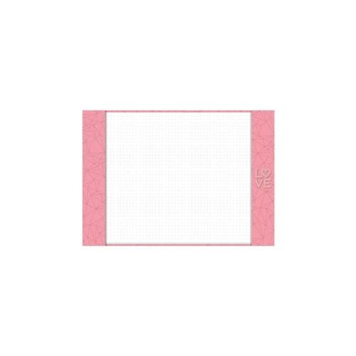 Pink Stone Risque A4 GM - Imagina só Presentes Criativos