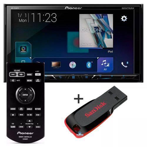 Pioneer - Dvd Player Avh-z5180tv Waze + Pendrive