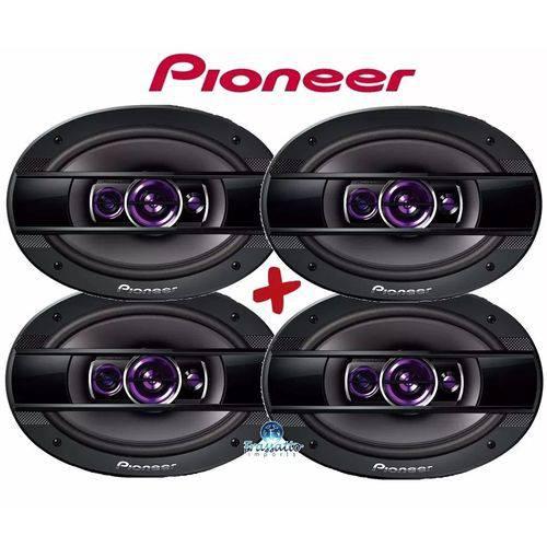Pioneer - Kit 4 Auto Falantes Ts-6960br 6x9'' 400w