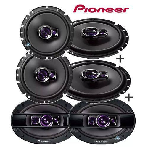 Pioneer - Kit Falantes Ts-6960br 6x9'' + Ts-1760br 6'' + Ts-1360br 5''