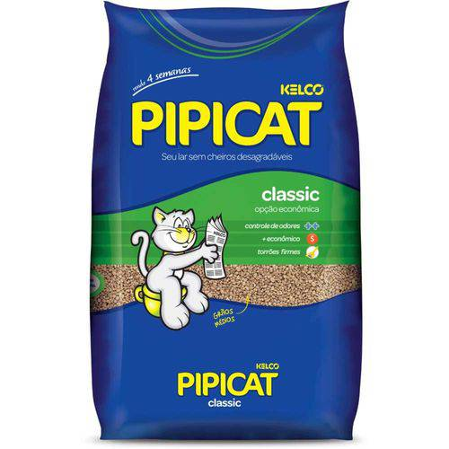 Pipicat Classic Granulado para Gatos 12 Kg - Kelco