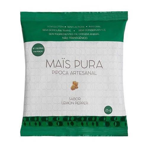 Pipoca Artesanal Lemon Pepper 25g - Mais Pura