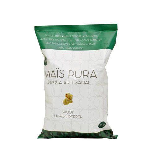 Pipoca Artesanal Lemon Pepper Mais Pura 50g