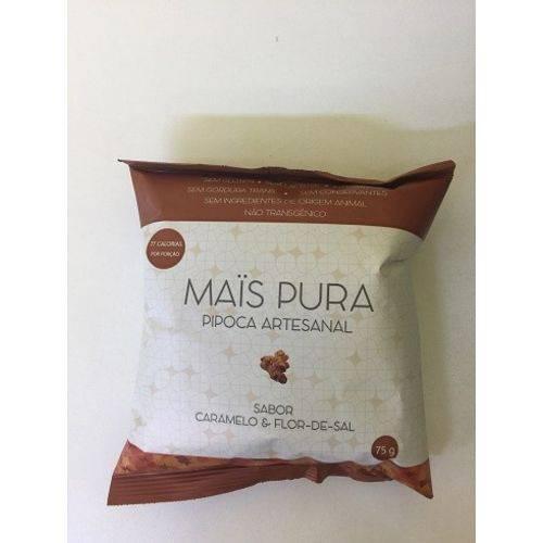 Pipoca Artesanal - Mais Pura - Caramelo e Flor de Sal - 75g