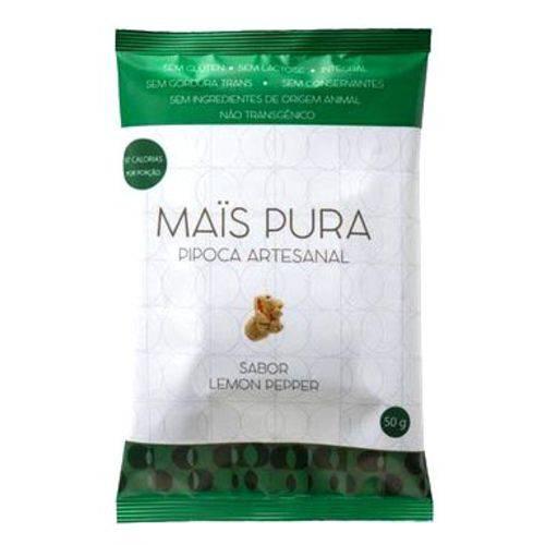 Pipoca Artesanal Sabor Lemon Pepper Mais Pura 50g