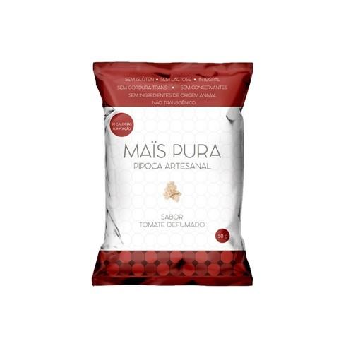 Pipoca Artesanal Tomate Defumado 150g - Mais Pura