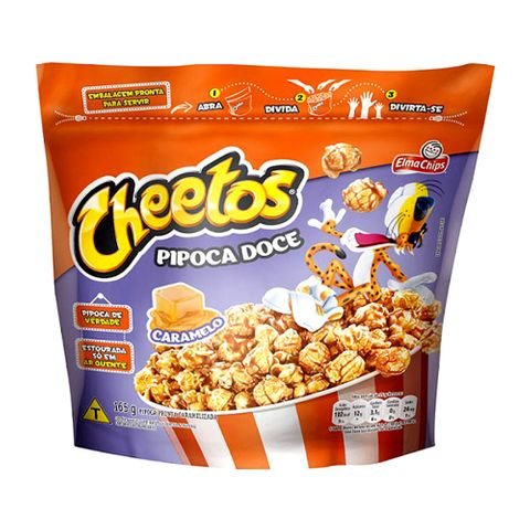 Pipoca Caramelo Cheetos 165g - Elma Chips