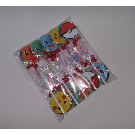 Pirulitos Pokemon - 10 Unidades