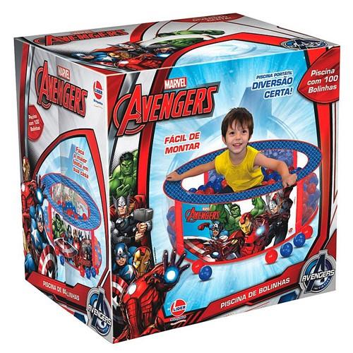 Piscina de Bolinhas Avengers com 100 Bolinhas