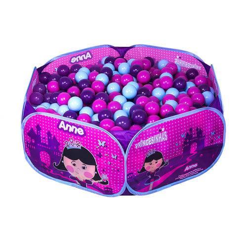 Piscina de Bolinhas Portátil - Princesinha Anne - Unik Toys