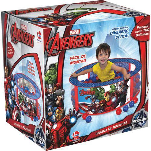 Piscina de Bolinhas The Avengers 100 Bolinhas Lider Unidade