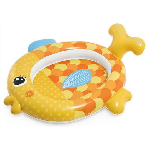 Piscina Inflável Meu Amigo Peixinho Dourado 36l - Intex