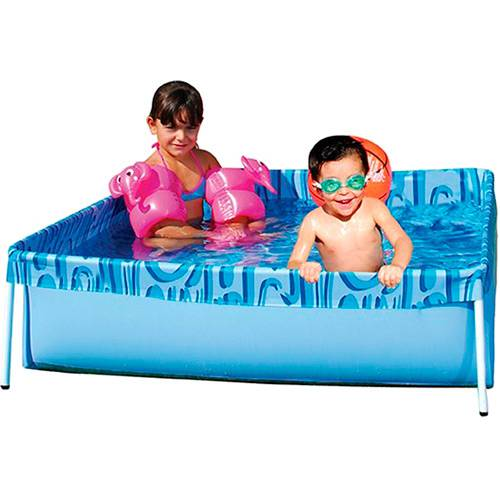 Piscina Retangular para Crianca Capacidade 400 Litros