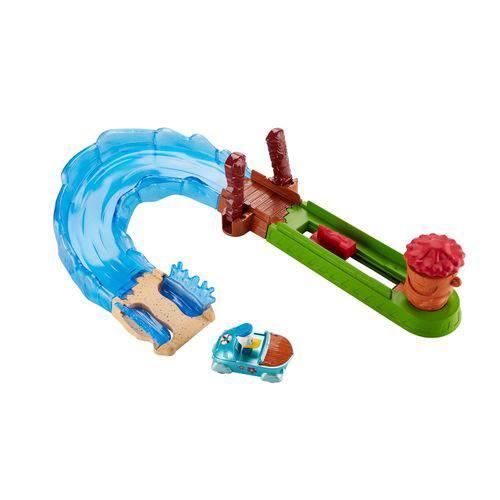 Pista e Veículo - Disney - Mickey Mouse - Aventuras Sobre Rodas - Donald Wave Rider - Fisher-price