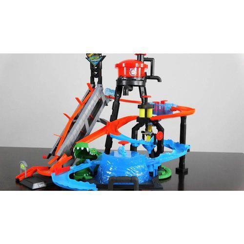 Pista e Veículo - Hot Wheels - Lava Rápido Jacaré - Mattel
