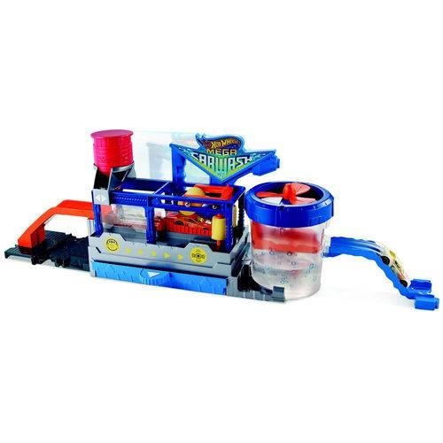 Pista e Veículo - Hot Wheels - Mega Lava Rápido - Mattel