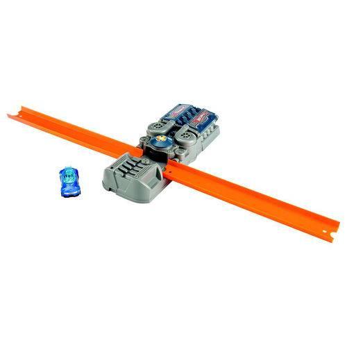 Pista e Veículo - Hot Wheels - Track Builder - Conjunto Acelerador - Mattel