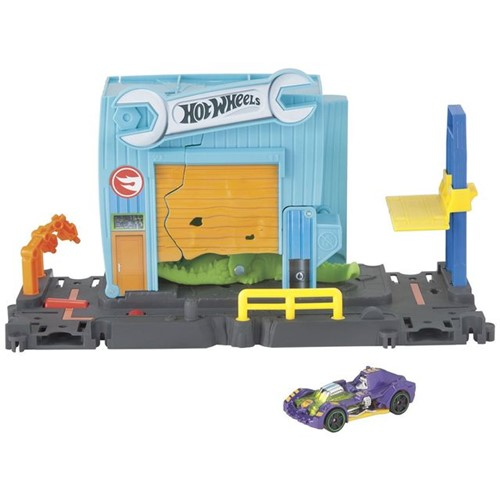 Pista Hot Wheels Conjunto Nemesis FNB05 Mattel Garagem Garagem