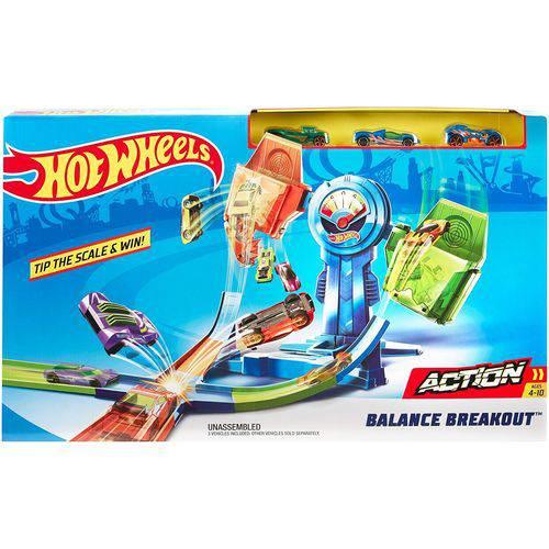 Pista Hot Wheels Equilíbrio Extremo FRH34 - Mattel