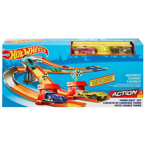 Pista Hot Wheels - Pista Tubo Corrida - Mattel Dnn83