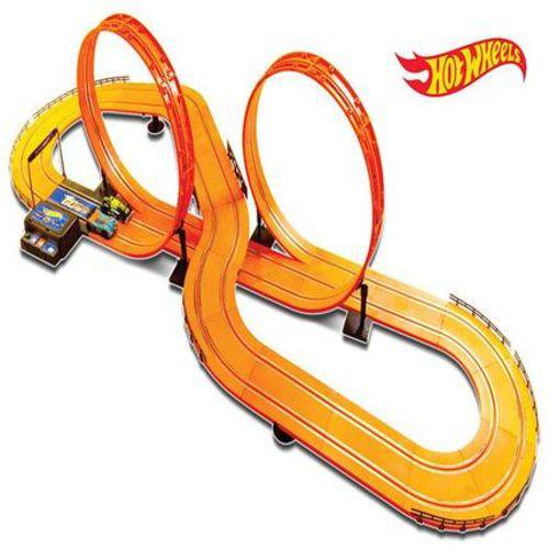 Pista Hot Wheels Track Set 632cm Deluxe Multikids - BR083