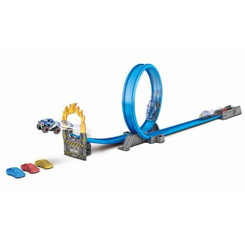 Pista Machine Road Rampage Candide Azul
